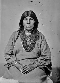 Pawnee woman - 1868