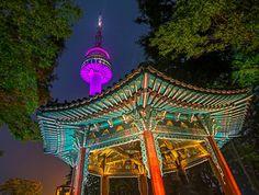 Namsam and Seoul Tower