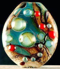 Handmade Laurie Geller Lampwork Bead. Starting at $35 http://tophatter.com/auctions/19619