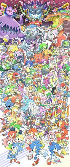 There's soooo many characters!