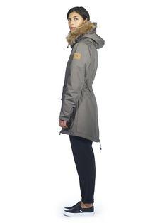 Makia Fishtail Parka Fishtail Parka, Military Jacket, Fall Winter, Coat, Jackets, Women, Style, Fashion, Swag