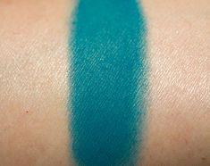 Inglot Matte Eyeshadows in #385, 372, 345, 340, 338, 389, 321 (Teals & Dark Blues)