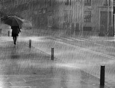 Walking in the Rain by Mariano de Miguel