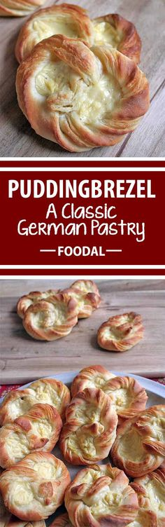 The puddingbrezel is a very special kind of pretzel. Made of buttery danish pastry with a smooth and sweet vanilla pudding filling, these little treats combine the best qualities of baked goods and desserts. Foodal shows you how to make this sweet treat – read more now.