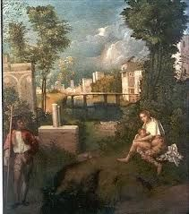 Giorgione, La Tempesta. An allegory waiting for a meaning.