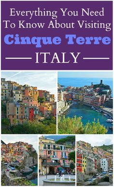 Planning a visit to Cinque Terre, Italy?! Look no further than this insanely helpful guide that covers How to Get to Cinque Terre | Traveling Between Villages: Train, Ferry, & Hiking | Driving & Parking  | Suggested Activities | Cinque Terre Card Information | Benefits & Disadvantages of Staying in Each Village | and More!