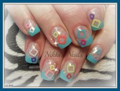 Seeing Squares - Nail Art Gallery