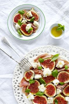 Fresh Cheese, Fig & Prosciutto