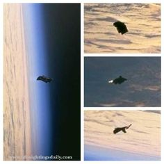 The UFOs shown in the video are in the NASA photos. It is a rare thing when a UFO photo sneaks its way out of NASA by accident, so this is a treasure for UFO researchers around the world ...