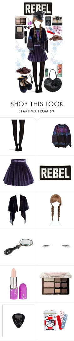 """""""Let me in"""" by sw-13 ❤ liked on Polyvore featuring SPANX, Dale of Norway, Chicwish, CO, Disney, Dr. Martens, Oxford, Urban Decay, Lime Crime and Too Faced Cosmetics"""