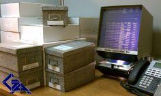 microfiche library