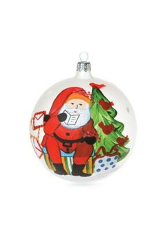 VIETRI  Old St. Nick 2016 Limited Edition Ornament