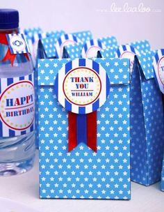 Ideas de bolsas para cumpleaños