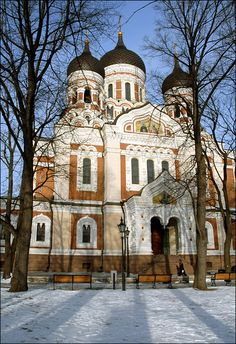 Alexandr Nevsky Cathedral - Tallinn, Estonia Copyright: Jonathan Wilson