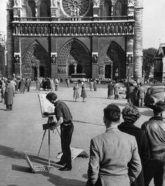 Patrice Molinard, Notre Dame, Paris, 1950s