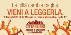 Cittàdeilibri, nasce a Bari il festival di letteratura per ragazzi | cittadeibimbi.it