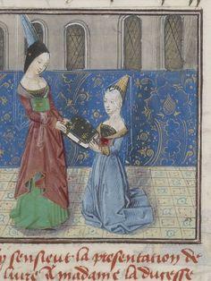 Français 1177 Titre : Anc. 7395 Auteur : Christine de Pisan (1363?-1431?). Auteur du texte Date d'édition : 1401-1500 Type : manuscrit