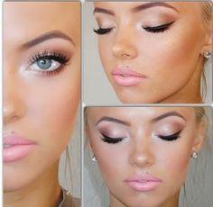 Beauty By Violett: Dinair Airbrush Aura of Champagne Bridal Makeup Tutorial