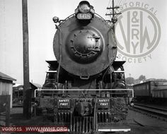 VGN Loco Class MC 468 Front View at Roanoke,VA July 1,1956