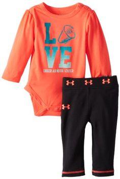 Under Armour Baby-Girls Newborn Love Cheer Bodysuit Set, NeoPulse, 3-6 Months Under Armour,http://www.amazon.com/dp/B00CH5Y3KO/ref=cm_sw_r_pi_dp_BMu3sb0VXQKWPK1X