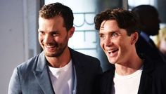Just a friendly reminder that Jamie Dornan and Cillian Murphy's bromance exists http://buff.ly/2j2IETR