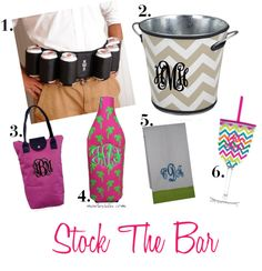 """""""Stock The Bar Wedding Shower"""" by marleylilly on Polyvore"""