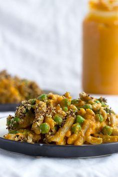 Butternut Squash Vegan Mac 'n' Cheese via Teffy's Perks