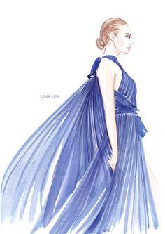 RUNWAY « Lena Ker | fashion illustration