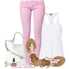 """""""Pretty In Pink"""" by tattooedleopard23 on Polyvore"""