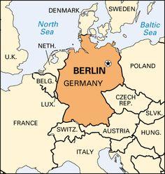 Google Image Result For Httpcuabroadcuaeduresimagesberlin - Berlin on world map