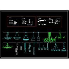 Lighting Symbols - CAD Drawings Download http://www.boss888.net/autocadshop4/
