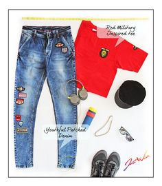 JW Menswear is going away from boring denims & tees to unique & colorful patched, painted, embellished JW Summer Clothing ;) Its fun with comfortable fit and youthful vibe. Be Unique Be You..