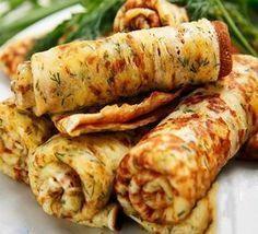Clătite de pui - cea mai gustoasă și ingenioasă rețetă pentru o cină rapidă! - Bucatarul