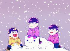 Snowing/Jūshimatsu,Ichimatsu, Todomatsu/Osomatsu-san