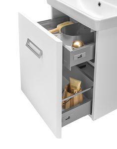 SINGLE - detail otevřené umyvadlové skříňky Kitchen Appliances, Detail, Home, Diy Kitchen Appliances, Home Appliances, Ad Home, Homes, Kitchen Gadgets, Haus