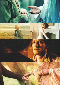 """I am a free human being with an independent will, which I now exert to leave you."" ""Then let your will decide your destiny. I offer you my hand, my // Jane Eyre Period Movies, Period Dramas, Jane Eyre Quotes, Jane Eyre 2011, Charlotte Bronte Jane Eyre, Elizabeth Gaskell, Bronte Sisters, About Time Movie, Pride And Prejudice"