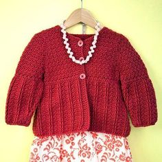 WEBS - America's Yarn Store® offers a huge selection of free knitting and crochet patterns, perfect for when you want to start a new project right away. Baby Girl Crochet, Cute Crochet, Crochet For Kids, Crochet Crafts, Knit Crochet, Crochet Children, Crochet Things, Knitting Patterns Free, Free Knitting
