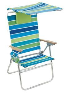 Luxury Canopied Beach Chairs