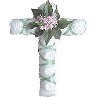 Egg Carton Cross Craft