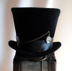 Top hats (or any kind of old-fashioned black hat - I know Dad says full top hats aren't so good)