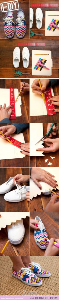 How to: DIY Sneakers Totally doing this for the kids! Summer kicks coming right up!!!!