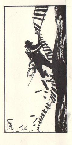 Indiana Jones by Jordi Bernet