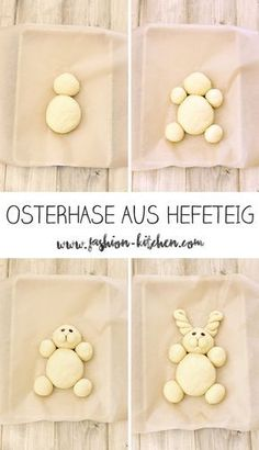 cute Easter bunny made of yeast dough - Fashion Kitchen- süßer Osterhase aus Hefeteig – Fashion Kitchen Easter bunny made of yeast dough, step by step instructions, … - Cute Easter Bunny, Happy Easter, Bunny Bunny, Easter Recipes, Dessert Recipes, Pancake Recipes, Cute Baking, Food Humor, Cute Food