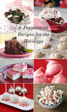 Best Peppermint Desserts #holidays #dessert #desserts #peppermint #christmas #baking