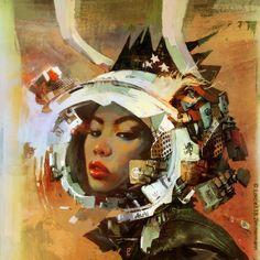 BINAURAL III by Loic Zimmermann, via Behance