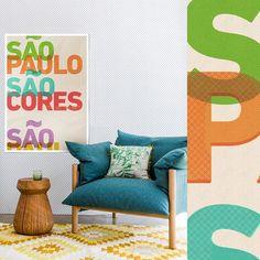 O lançamento de hoje é para homenagear uma das cidades mais influentes do mundo. São Paulo sua cultura suas cores.  - Cidade linda não é cidade cinza. - #nacasadajoana #abaixoasparedesvazias #decoração #meunacasadajoana #sãopaulo #cidadecinza #culturanãoseapaga #cool #menoscinzamaisarte #sampa #pôster #posters #sp #pinterest #maiscorporfavor #arcosdojanio #sãopaulosãocores #cores