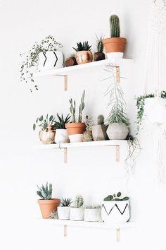 Geometric Air Plant / Succulent Pots – Set of 3 – Concrete Plant shelves. Cute Room Decor, Room Wall Decor, Girl Room Decor, Small Wall Decor, Creative Wall Decor, Decoration Bedroom, Decoration Crafts, Unique Wall Decor, House Decorations