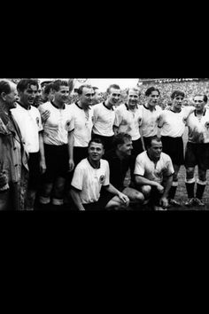 Bern, Sport, Football, National Team, Historic 1954 World Cup Switzerland Final: Germany - Hungary The World Champions: Coach Sepp Herberger and the German National Team Football Icon, Football Photos, World Football, Sport Football, German National Team, Fifa World Cup, Hungary, Finals, Photo Galleries