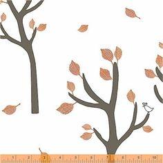 Bella Poppy - Trees Rust