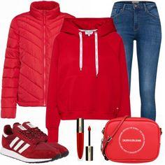 Bordeaux, Fashion Sets, Women's Fashion, Winter Outfits, Gap Outfits, Adidas Originals Sneaker, Business Outfit, Gap Women, Sweatshirt